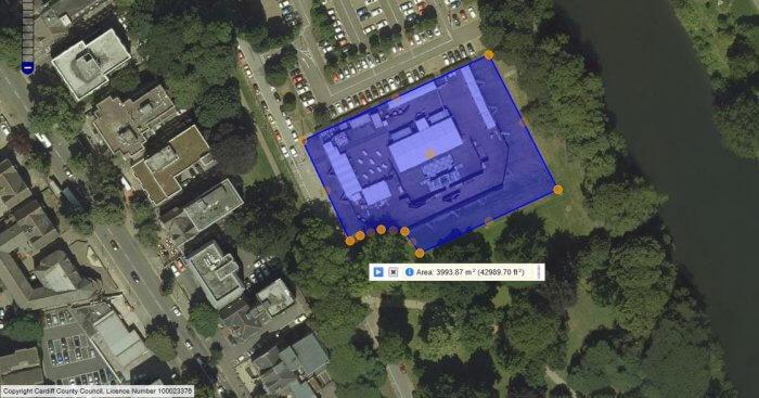 Sophia gardens area plan